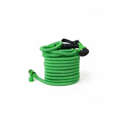 Tubo flessibile 15 MT con pistola per irrigazione
