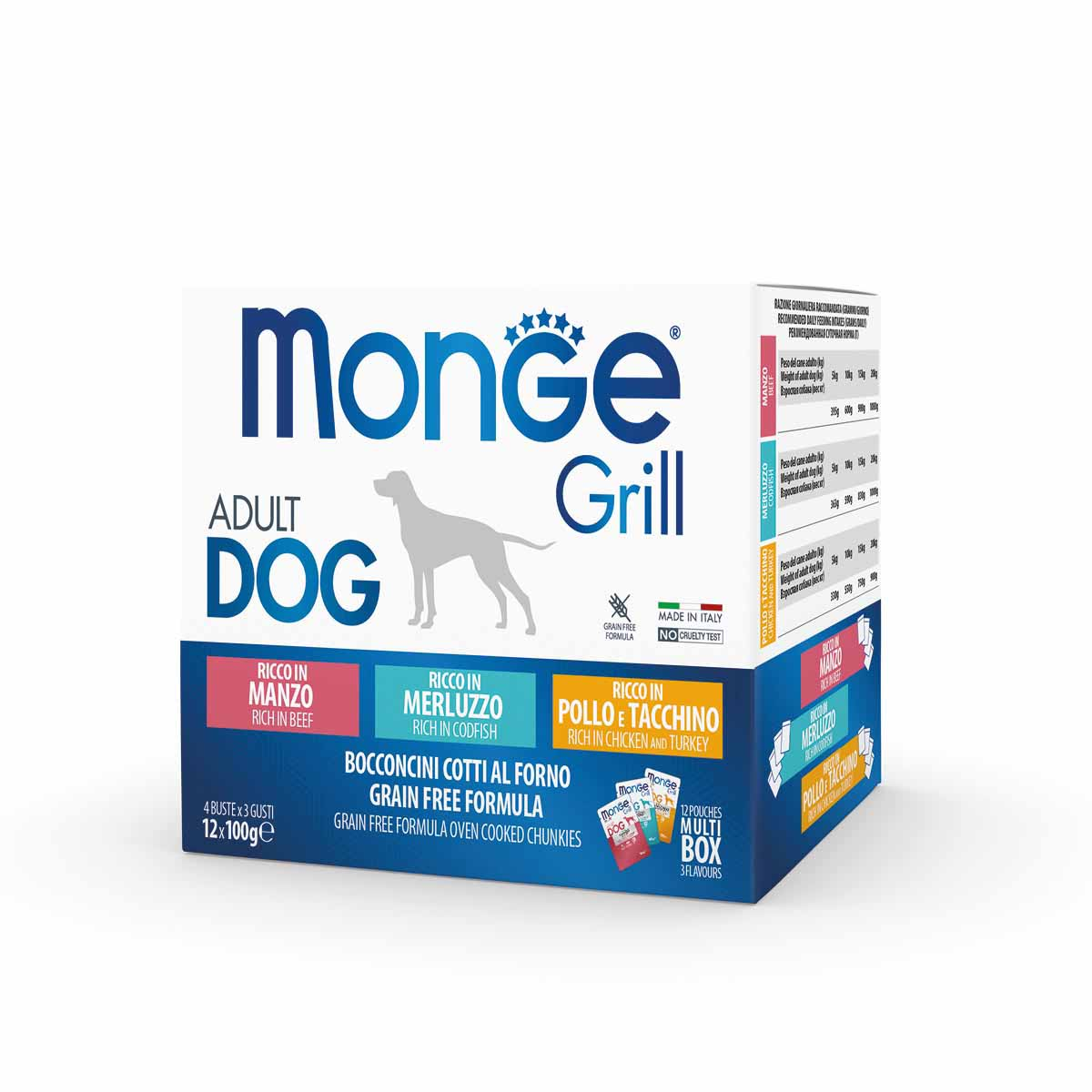Monge Grill Cane Multipack