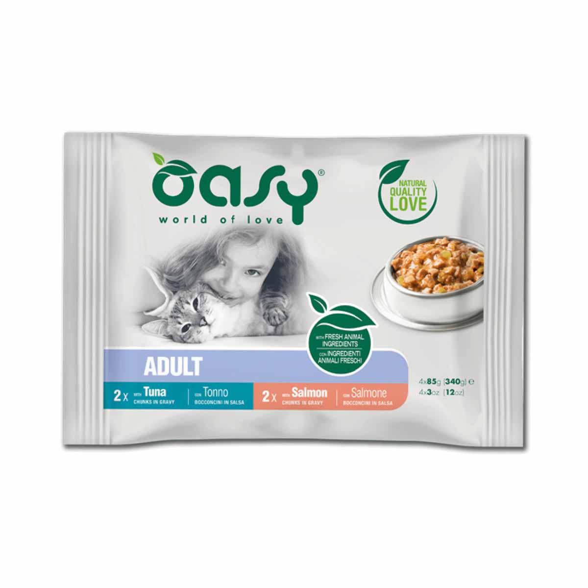 Oasy Wet Cat Multipack
