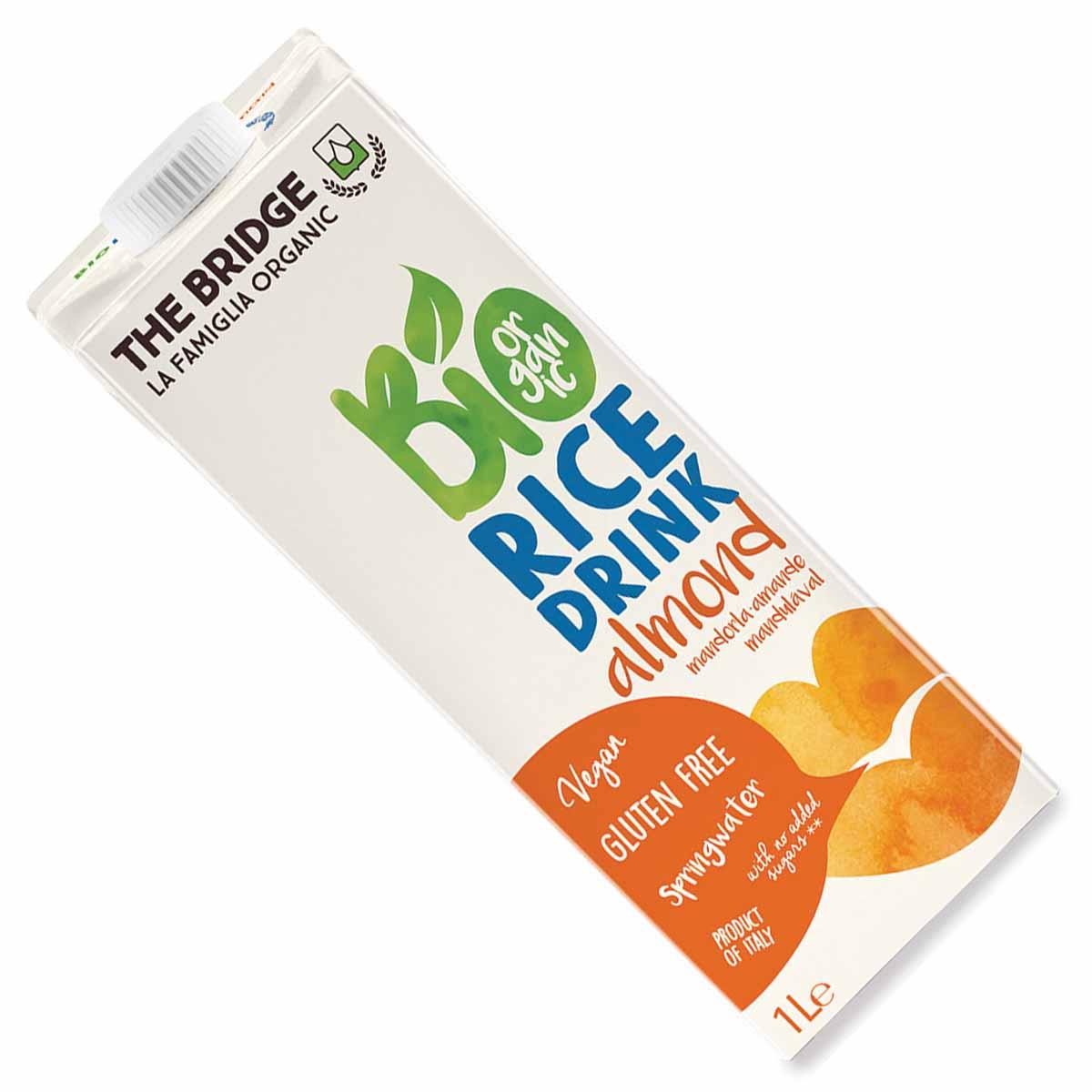 The Bridge Bio Rice drink mandorla