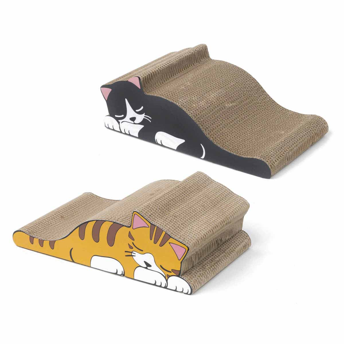 Tiragraffi in cartone Cat