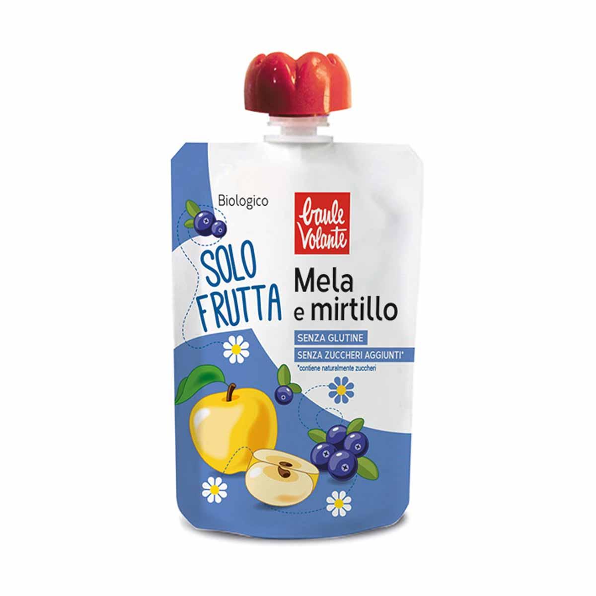 Baule Volante Solo frutta Mela e Mirtillo