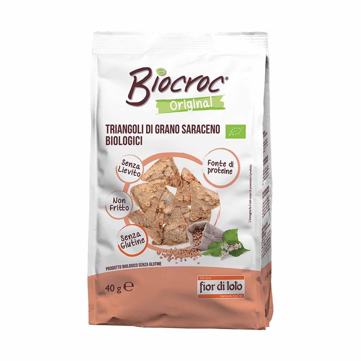 Fior di Loto Biocroc Triangoli di grano saraceno