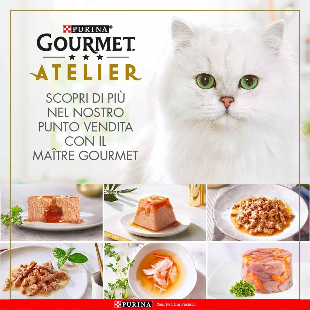 Gourmet Atelier ma solo per gatti super raffinati…